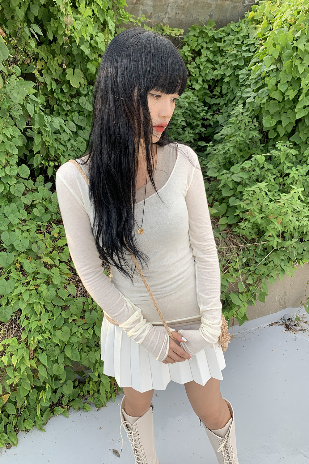 soft tension knit (2colors)