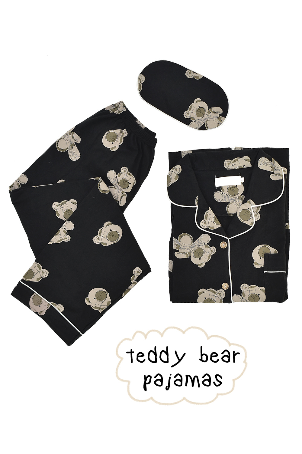 teddy bear pajamas