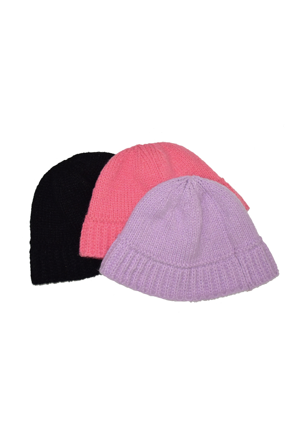 candy knit bucket hat (3colors)