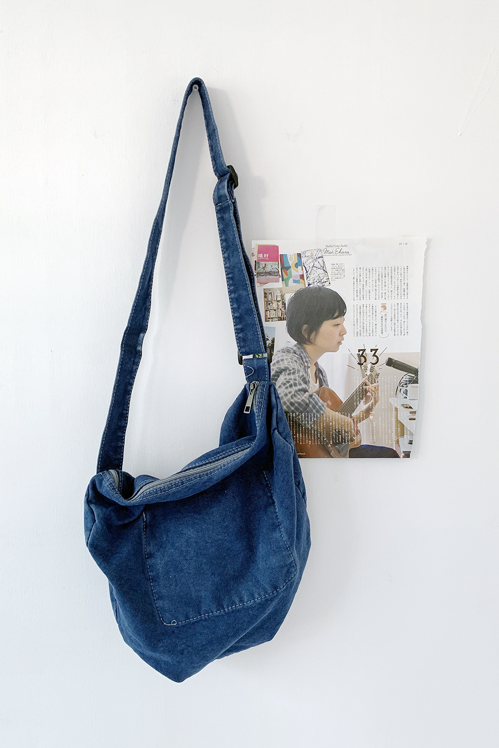 hush denim bag (2colors)