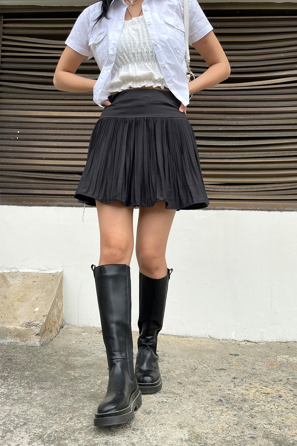tulip mini skirts (2colors)